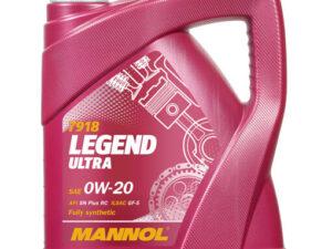 Mannol 7918 Legend Ultra SAE 0W-20 4L