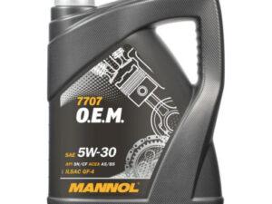 Mannol 7707 O.E.M. for Ford Volvo SAE 5W-30 5L