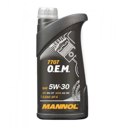 Mannol 7707 O.E.M. for Ford Volvo SAE 5W-30 1L