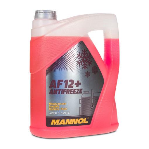 Mannol Jahutusvedelik AF 12+ Longlife – 40°C (punane) 5L