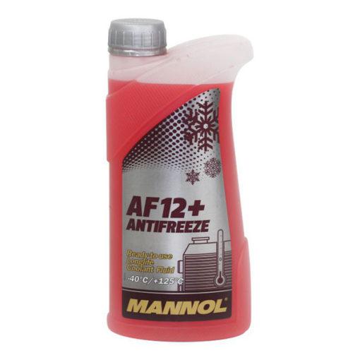 Mannol Jahutusvedelik AF 12+ Longlife – 40°C (punane) 1L