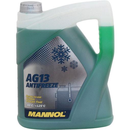 Mannol Jahutusvedelik AG13 Hightec – 40°C (roheline) 5L