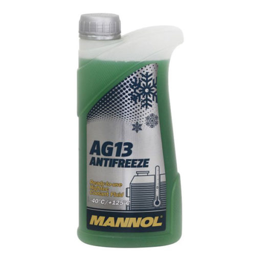 Mannol Jahutusvedelik AG13 Hightec – 40°C (roheline) 1L